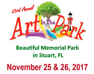 Art in the Park - Huff's Promotions - Vero Beach Florida